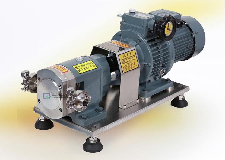 Sanitary Cam Rotor Pump QZ-Z 01